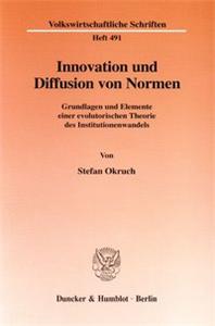 Innovation und Diffusion von Normen.