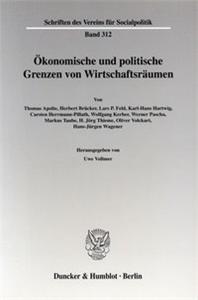 Ökonomische und politische Grenzen von Wirtschaftsräumen.