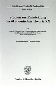Die Ältere Historische Schule: Wirtschaftstheoretische Beiträge und wirtschaftspolitische Vorstellungen.
