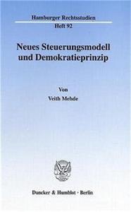 Neues Steuerungsmodell und Demokratieprinzip.