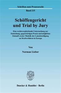 Schöffengericht und Trial by Jury.