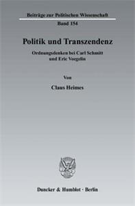 Politik und Transzendenz.