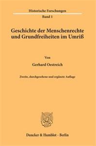 Geschichte der Menschenrechte und Grundfreiheiten im Umriß.