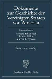 Dokumente zur Geschichte der Vereinigten Staaten von Amerika.