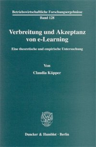 Verbreitung und Akzeptanz von e-Learning.