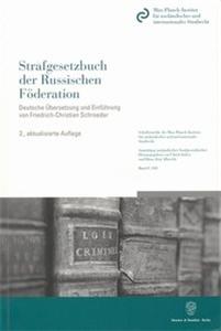 Strafgesetzbuch der Russischen Föderation.