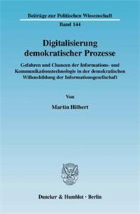 Digitalisierung demokratischer Prozesse.