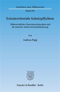 Extraterritoriale Schutzpflichten.