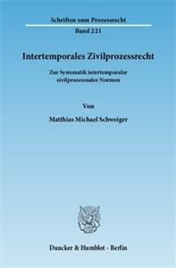 Intertemporales Zivilprozessrecht.