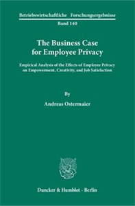 The Business Case for Employee Privacy.