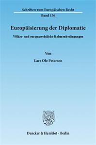 Europäisierung der Diplomatie.