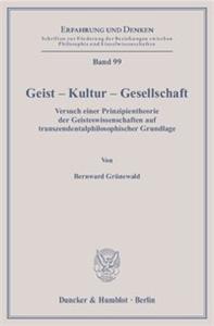 Geist – Kultur – Gesellschaft.