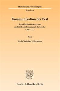 Kommunikation der Pest.