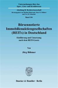 Börsennotierte Immobilienaktiengesellschaften (REITs) in Deutschland.