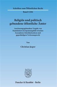 Religiös und politisch gebundene öffentliche Ämter.