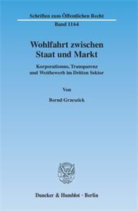 Wohlfahrt zwischen Staat und Markt.