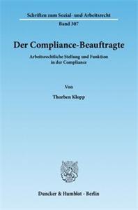 Der Compliance-Beauftragte.