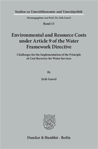 Environmental and Resource Costs under Article 9 of the Water Framework Directive.