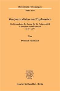 Von Journalisten und Diplomaten.