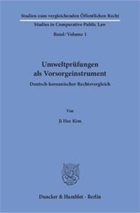 Umweltprüfungen als Vorsorgeinstrument.
