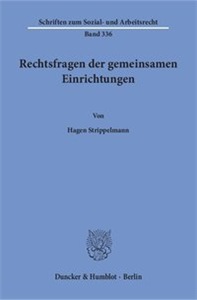 Rechtsfragen der gemeinsamen Einrichtungen.