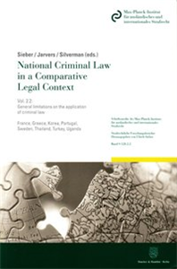 National Criminal Law in a Comparative Legal Context.