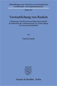 Verstaatlichung von Banken.