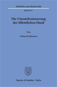 Die Umsatzbesteuerung der öffentlichen Hand.