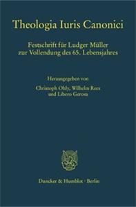 Theologia Iuris Canonici.