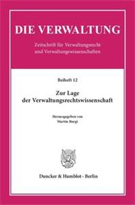 Zur Lage der Verwaltungsrechtswissenschaft.