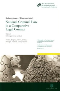 National Criminal Law in a Comparative Legal Context. Vol. 3.2.