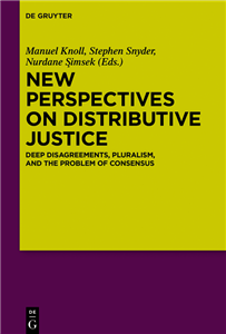 New Perspectives on Distributive Justice
