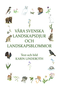 County animals and flowers of Sweden