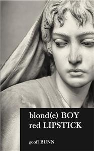 Blond Boy; Red Lipstick