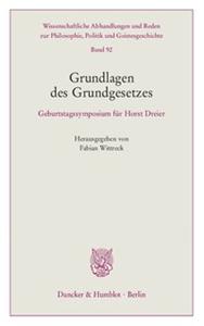 Grundlagen des Grundgesetzes.