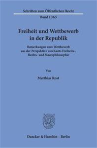 Freiheit und Wettbewerb in der Republik.