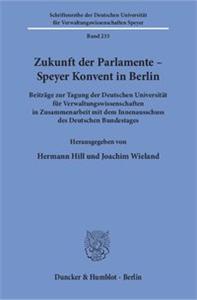 Zukunft der Parlamente – Speyer Konvent in Berlin.