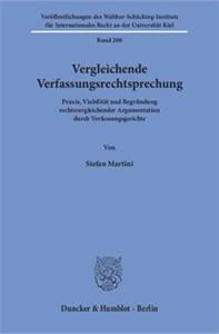Vergleichende Verfassungsrechtsprechung.