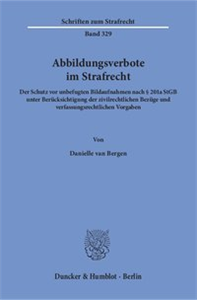 Abbildungsverbote im Strafrecht.