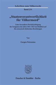 """""""Staatenverantwortlichkeit für Völkermord«."""