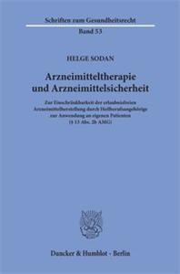Arzneimitteltherapie und Arzneimittelsicherheit.