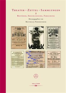 Theatre - Playbills -  Collections 2: Inventories,  Indexing, Research
