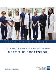 2020 Endocrine Case Management: Meet the Professor
