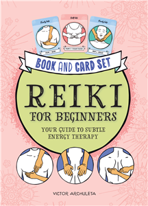 Press Here! Reiki for Beginners Book and Card Deck