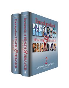 Encyclopedia of Health and Behavior