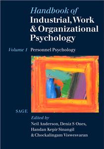 Handbook of Industrial, Work & Organizational Psychology