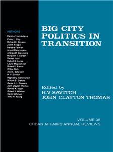 Big City Politics in Transition