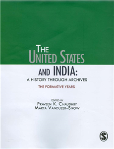 The United States and India: A History Through Archives