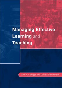Managing Effective Learning and Teaching
