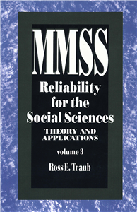 Reliability for the Social Sciences